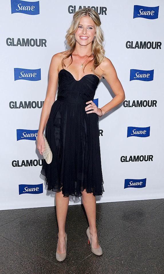 "Anna's ""House Bunny"" costar Sarah Wright paired her strapless black dress with cute tan accessories. Sarah stars in Demi Moore's short film ""Streak."" Jeff Vespa/<a href=""http://www.wireimage.com"" target=""new"">WireImage.com</a> - October 14, 2008"