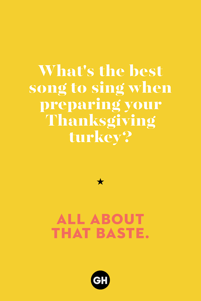 """<p>""""All About That Baste.""""</p>"""