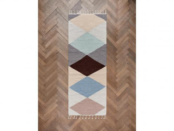 One for smaller spaces, this is a versatile modern rug with big impact (Oyoy)