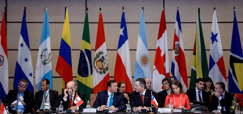 Foreign ministers from Lima Group countries meeting in Santiago, Chile asked for United Nations for help on the Venezuelan crisis
