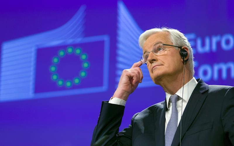 The EU's Chief Brexit negotiator, Michel Barnier, has warned of