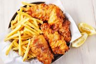"<p>Currently craving...</p><p>Get the recipe from <a href=""https://www.delish.com/cooking/recipe-ideas/a26258755/beer-battered-fish-recipe/"" rel=""nofollow noopener"" target=""_blank"" data-ylk=""slk:Delish"" class=""link rapid-noclick-resp"">Delish</a>.</p>"