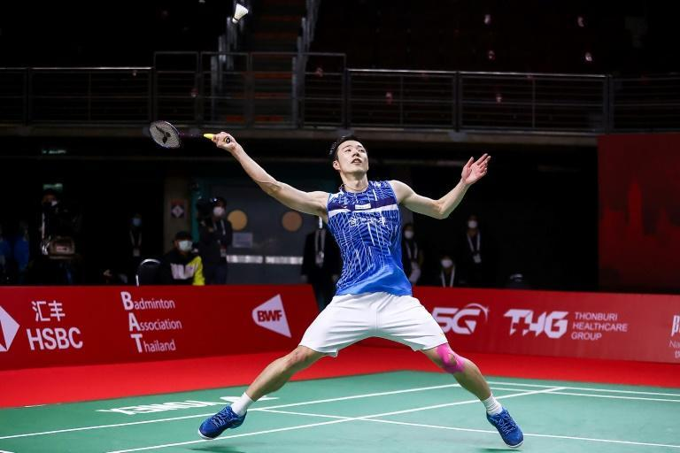 Taiwan's Wang Tzu-wei beat India's Kidambi Srikanth in their singles match