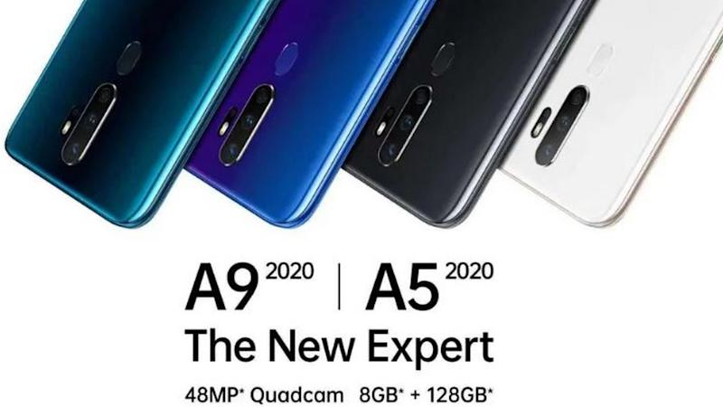 OPPO A9 2020, A5 2020 with quad rear cameras launched in India from Rs 12,490 onwards
