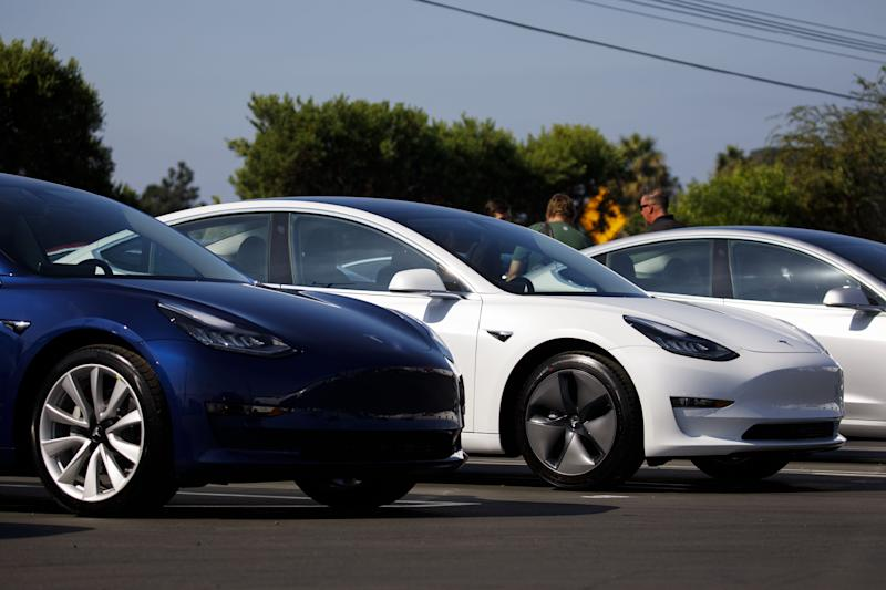 Here, boy . . . Tesla cars will follow owners like a pet