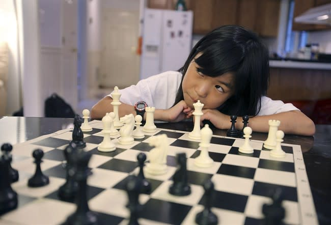 Carissa Yip, 9, becomes the U.S.'s youngest female chess expert