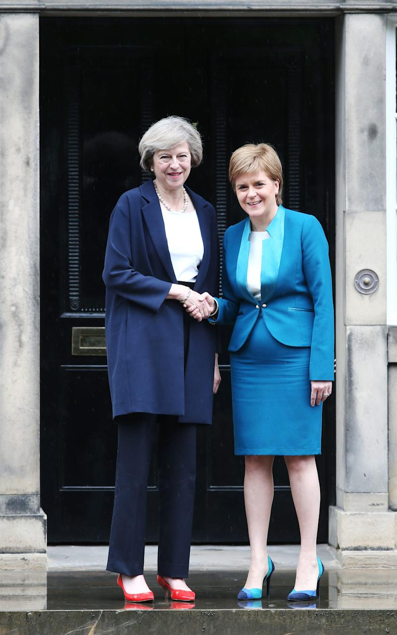 "Nicola Sturgeon has accused Theresay May of being ""undemocratic"" - Credit: PA"