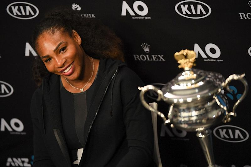 Serena Williams moved up one place courtesy of her victory at the Australian Open where she got the better of sister Venus