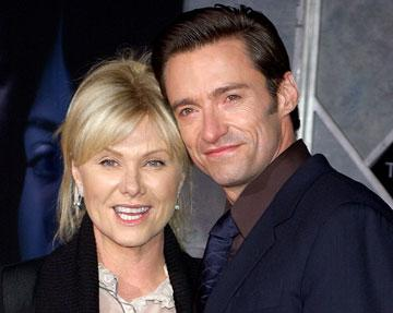 """Premiere: <a href=""""/movie/contributor/1800354816"""">Hugh Jackman</a> with wife <a href=""""/movie/contributor/1800087132"""">Deborra-Lee Furness</a> at the Hollywood premiere of Touchstone Pictures' <a href=""""/movie/1809267303/info"""">The Prestige</a> - 10/17/2006<br>"""