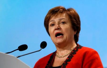 Bulgaria's Georgieva climbs from communism to IMF head hopeful