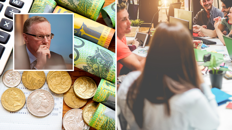 RBA governor Philip Lowe is concerned businesses will continue to buy into the
