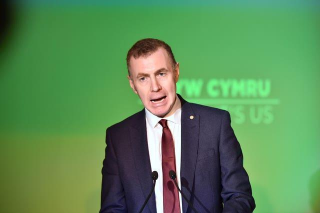 Plaid Cymru leader Adam Price is promising the most radical agenda of any Government in Wales since 1945 (Ben Birchall/PA)