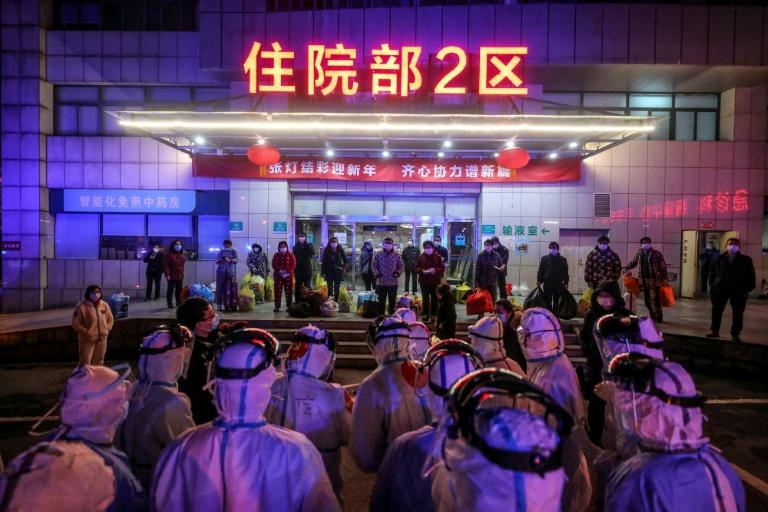 More than 90,000 people have been infected and 3,100 killed since the first cases were identified in China's Hubei province late last year (AFP Photo/STR)