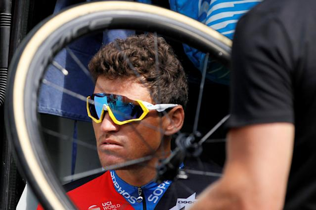CAPTION CORRECTION - REFILE WITH CORRECTING SPELLING OF NAME Cycling - Tour de France - Rest day - Aix-les-Bains, France, July 16, 2018. BMC Racing Team rider Greg Van Avermaet of Belgium before a training. REUTERS/Emmanuel Foudrot