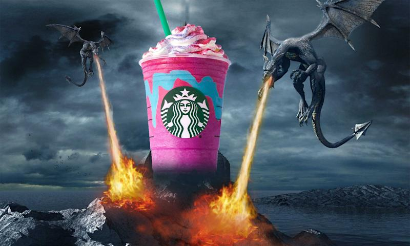 You Literally Cannot Order a Starbucks Dragon Frappuccino