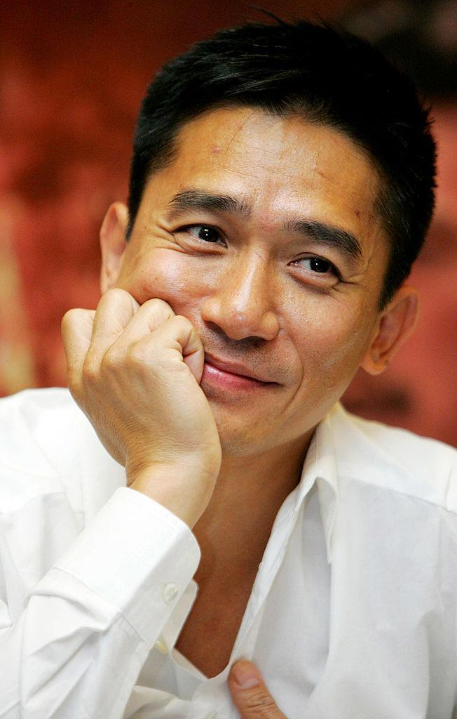 BEIJING, CHINA - JANUARY 4: (CHINA OUT) Tony Leung arrives at the premiere of 'Red Cliff Part 2' on January 4, 2009 in Beijing, China. (Photo by Visual China Group via Getty Images)