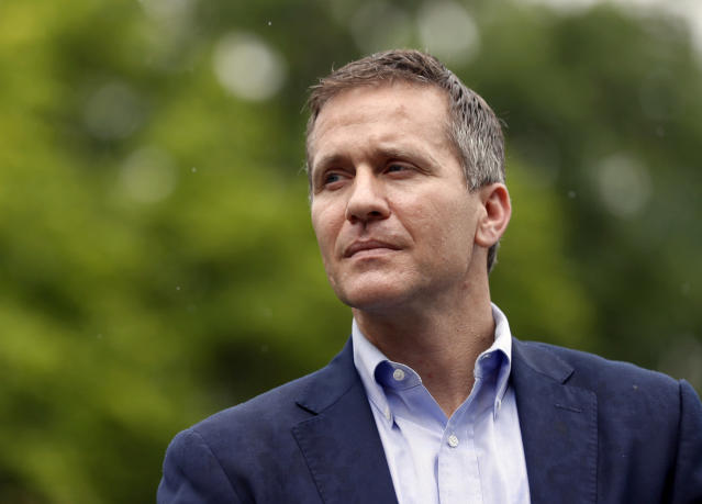 Missouri Gov. Eric Greitens. (Photo: Jeff Roberson/AP)