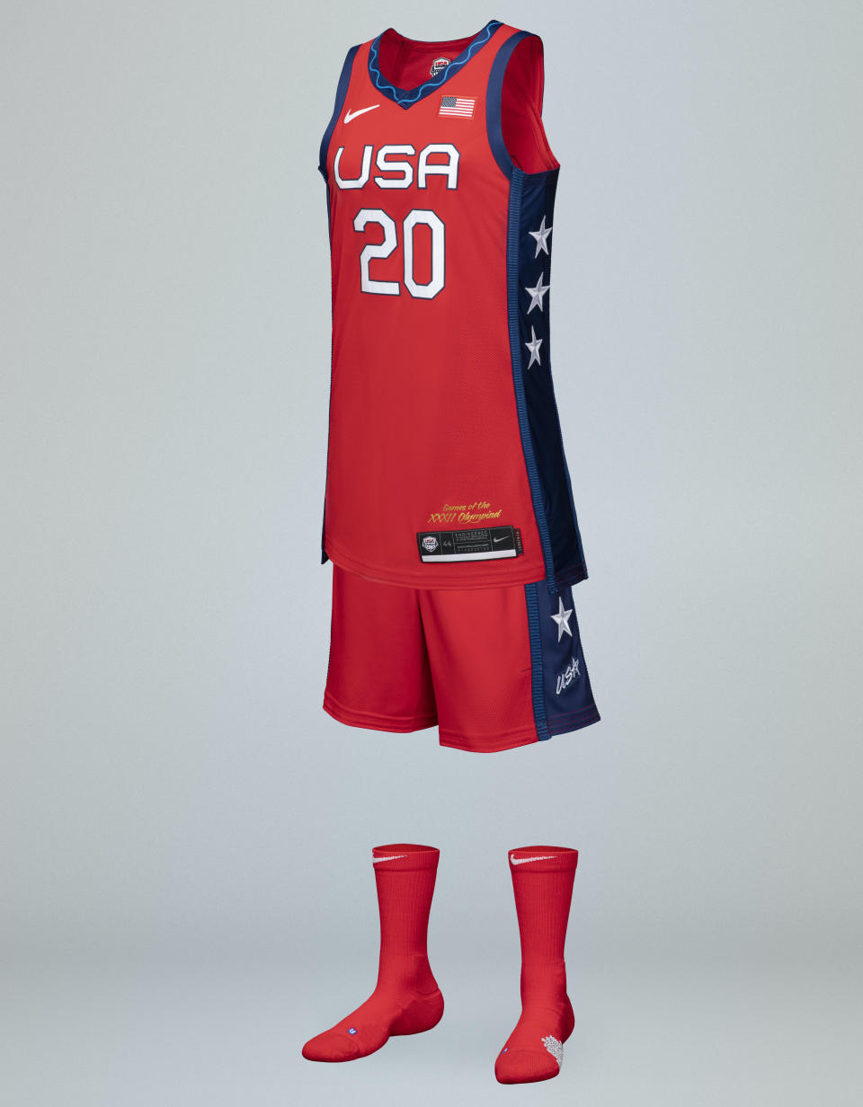 The Nike Team USA women's basketball jersey retails for $110. (Photo by Nike)