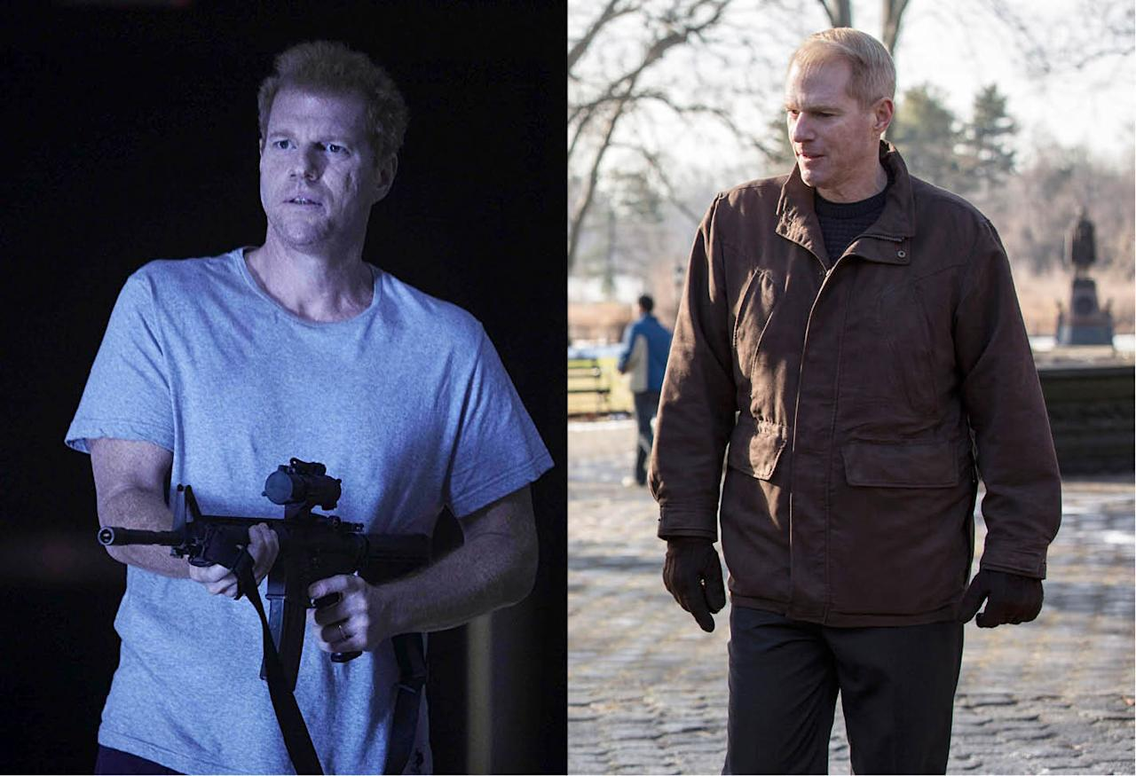 <p>The veteran movie and TV actor made a brief, but memorable appearance in Season 1 as Dr. Edwin Jenner of the Center for Disease Control. After Jenner's death in the lab explosion, Emmerich went on to play FBI agent Stan Beeman in FX's Emmy-nominated <em>The Americans.</em><br /><br />(Photo: AMC/FX) </p>