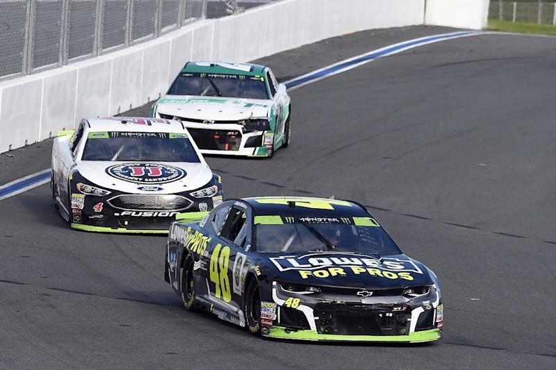Kevin Harvick failed inspection after win, penalties include no automatic championship berth
