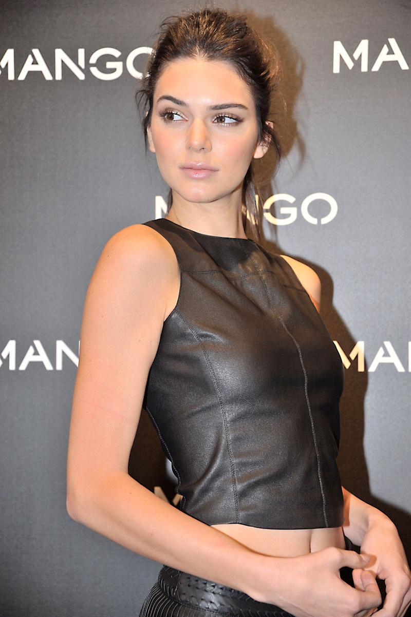 BARCELONA, SPAIN - JANUARY 28: Kendall Jenner attends 'Tribal Spirit' by Mango on January 28, 2016 in Barcelona, Spain. (Photo by Europa Press/Europa Press via Getty Images)