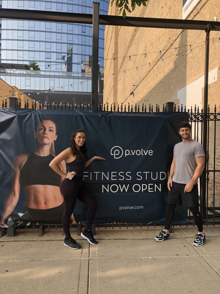 P.VOLVE WORKOUT REVIEW (Courtesy Stephanie Mansour)