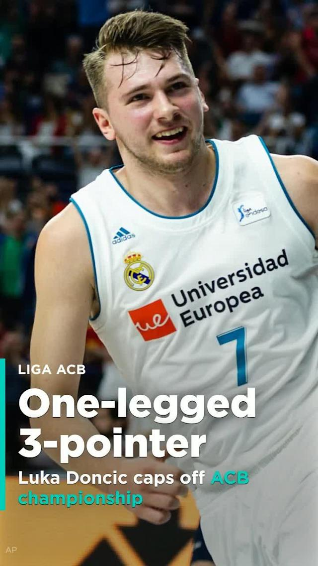 Luka Doncic wins ACB title ahead of NBA Draft.