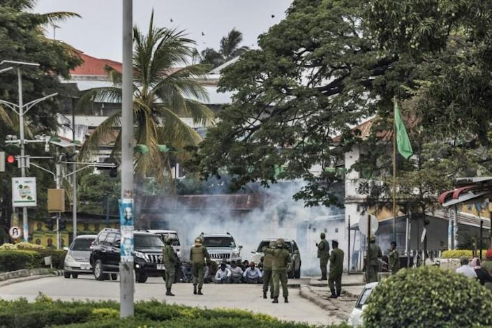 In semi-autonomous Zanzibar, which also elects its own president, attempts to protest were quickly and brutally crushed by security forces