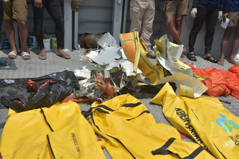 Rescue teams in Indonesia recovered human remains that filled some 200 body bags
