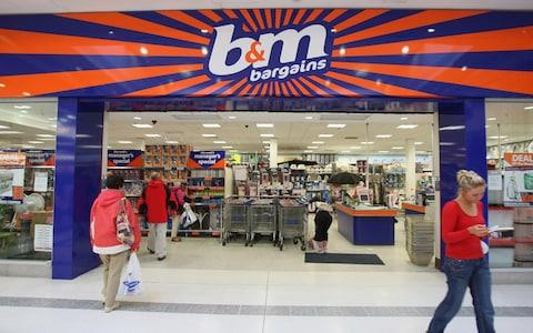 B&M said strong grocery sales boosted its growth
