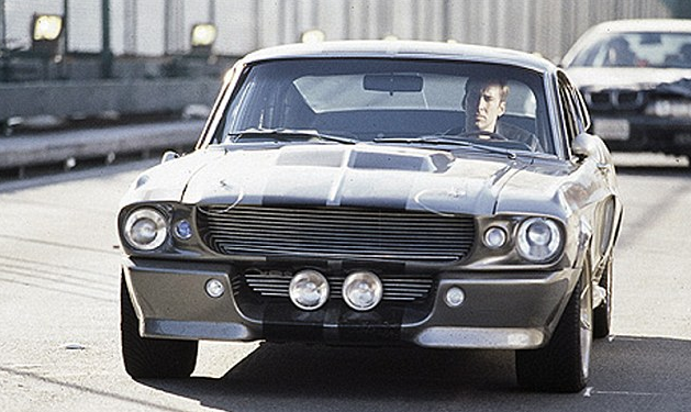 "<p>Named Eleanor after the 1974 original movie, this Dupont Pepper Grey 1967 Ford Mustang fastback depicted as a Shelby GT500. Eleven of the fictional Mustangs were created for the movie, with only three of them being working cars and two were ultimately destroyed during filming. </p><p>Though not an original Shelby, its power comes from a 351 Ford V-8 crate engine, rated at 400 horsepower. The car features central-mounted driving lights, pumped fender flares, a four-speed manual transmission, lowered suspension with coilovers, 17-inch wheels with Goodyear F1 tires, and a faux nitrous kit. A primary ""beauty"" car for the film was sold through Mecum in 2013 for a staggering $1 million, but you can purchase your very own licensed Eleanor replica through <a href=""https://www.fusionmotorco.com/eleanor-build-sheet"" rel=""nofollow noopener"" target=""_blank"" data-ylk=""slk:Fusion Motor Company"" class=""link rapid-noclick-resp"">Fusion Motor Company</a>.</p><p><a class=""link rapid-noclick-resp"" href=""https://www.amazon.com/gp/video/detail/0JGH6FVBODLH2MCCSMEI0KZNAR/?tag=syn-yahoo-20&ascsubtag=%5Bartid%7C10054.g.27421711%5Bsrc%7Cyahoo-us"" rel=""nofollow noopener"" target=""_blank"" data-ylk=""slk:AMAZON"">AMAZON</a></p>"
