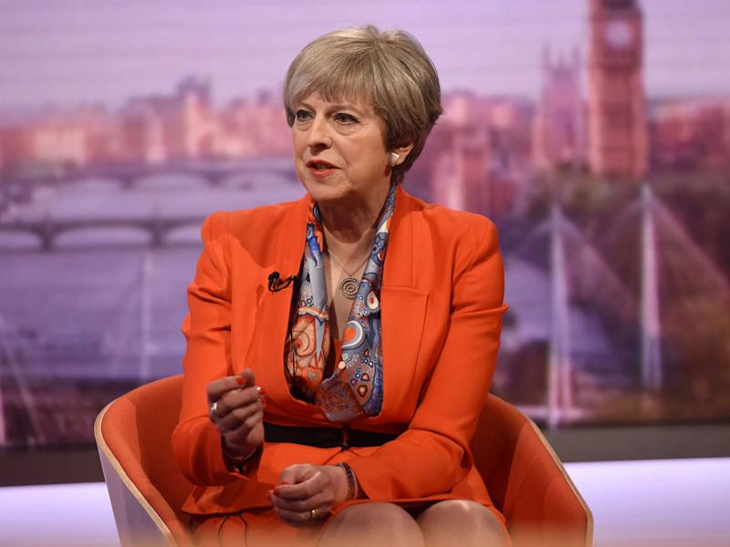The Prime Minister toured the TV studios on Sunday morning, indicating to both the BBC and ITV that the 'tax lock' could go: Reuters