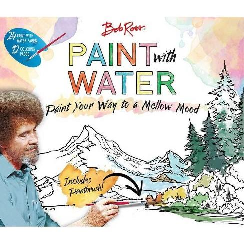 Bob Ross Paint with Water - (Paperback)