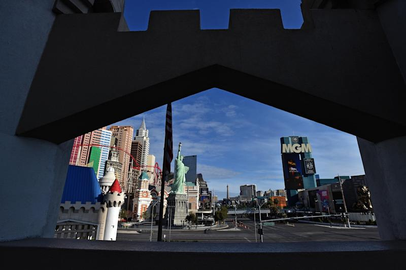 La Strip di Las Vegas (Photo: Ansa)