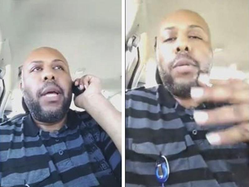 Police are hunting for suspected murderer Steve Stephens, who they have warned is 'armed and dangerous': Reuters