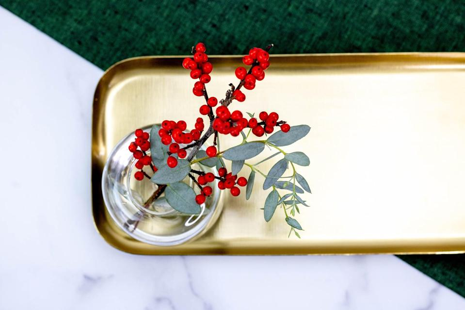 """<p>Whether it's keys, jewelry or hair ties, we're always settings things down and picking them up again, hoping they don't get lost. Embrace that habit with gorgeous trinket trays that not only look like decor, but also <a href=""""https://www.popsugar.com/home/how-to-get-rid-of-clutter-46669898"""" class=""""link rapid-noclick-resp"""" rel=""""nofollow noopener"""" target=""""_blank"""" data-ylk=""""slk:organize clutter"""">organize clutter</a>. Check out your local thrift store for a great selection, or perhaps repurpose old dishes that you love.</p>"""