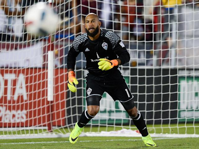 Tim Howard joined Colorado Rapids in 2016: Getty