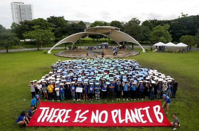 Philippines Climate Protests
