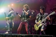 <p>Mötley Crüe performed for the last time together at the Staples Center in Los Angeles on December 31, 2015. The show was released in 2016, titled Motley Crue: THE END.</p>