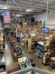 The two-story property is comprised of warehouse racking space, retail space, and office space located on the second floor, and sells over 2,000 different tobacco and tobacco-related accessory products.