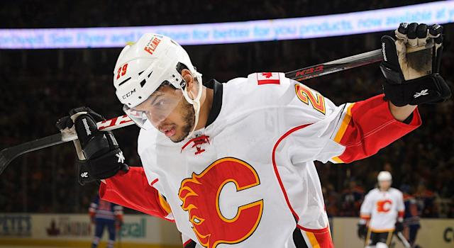 Aliu, pictured as a member of the Flames. (Photo by Derek Leung/Getty Images)
