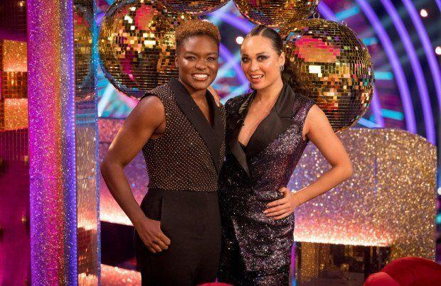 Nicola and Katya will not be able to return to the competition, even when they are out of quarantine (Photo: BBC)