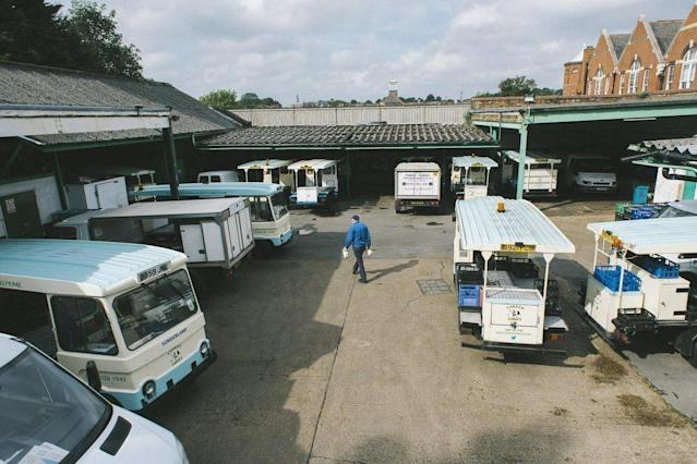 Parker Dairies: the east London dairy has a fleet of 25 electric milk floats (Parker Dairies)