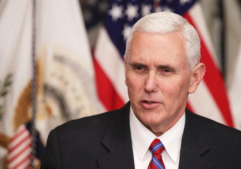 Mike Pence Is Receiving a 'Working for Women' Award