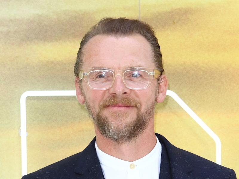 "Simon Pegg bei der UK-Premiere von ""Once Upon a Time... in Hollywood"" (Bild: Keith Mayhew /Landmark Media/Imagecollect.com)"