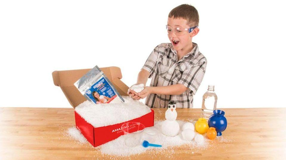 """<p>For more STEM fun, Ellen Degeneres' favorite scientist Steven Spangler can <strong>send his lab to your home.</strong> Tell the kids to get their goggles ready. </p><p><em>$18+ per month <br>Ages: 5–12</em></p><p><a class=""""link rapid-noclick-resp"""" href=""""https://go.redirectingat.com?id=74968X1596630&url=https%3A%2F%2Fwww.stevespanglerscience.com%2Fstore%2Fspangler-science-club.html&sref=https%3A%2F%2Fwww.goodhousekeeping.com%2Flife%2Fg5093%2Fsubscription-boxes-for-kids%2F"""" rel=""""nofollow noopener"""" target=""""_blank"""" data-ylk=""""slk:BUY NOW"""">BUY NOW</a></p>"""