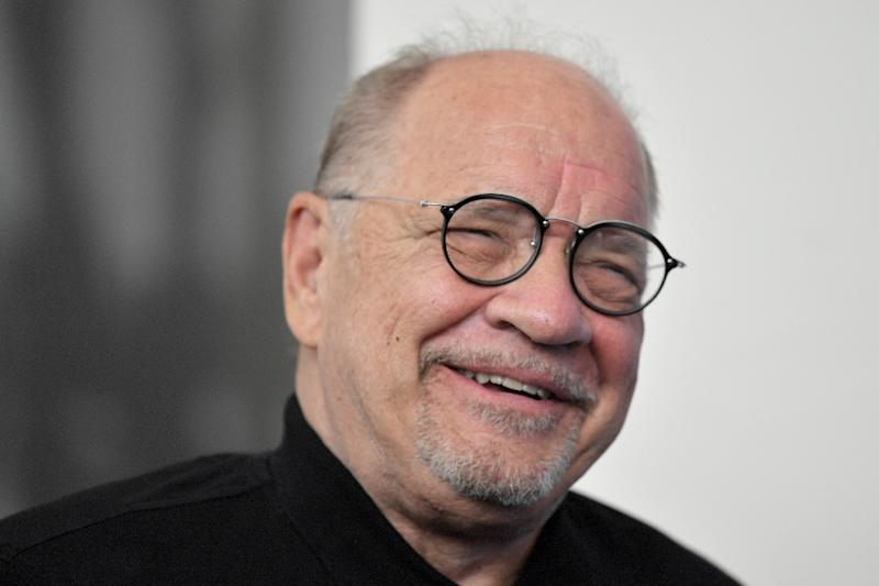 "Paul Schrader at the photocall for his movie ""First Reformed"",  presented at this year's Venice film festival"