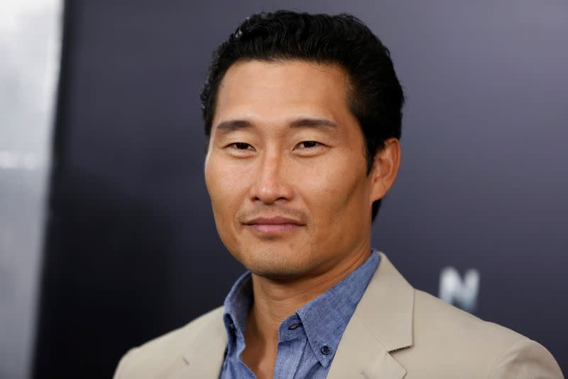 "FILE PHOTO: Actor Daniel Dae Kim arrives for the world premiere of the film ""Man of Steel"" in New York"
