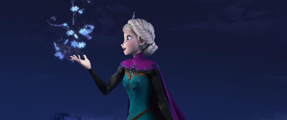 """<p>The best part about <em>Frozen</em> is the """"love that conquers all"""" in the end isn't between a prince and princess but two sisters who see each other clearly and fully for the first time. If you don't have """"Let It Go"""" fully memorized, were you even alive in the 2010s?</p> <p><a href=""""https://www.amazon.com/Frozen-Kristen-Bell/dp/B00J2PF4ZU/"""" rel=""""nofollow noopener"""" target=""""_blank"""" data-ylk=""""slk:Available for rent on Amazon Prime Video"""" class=""""link rapid-noclick-resp""""><em>Available for rent on Amazon Prime Video</em></a></p>"""