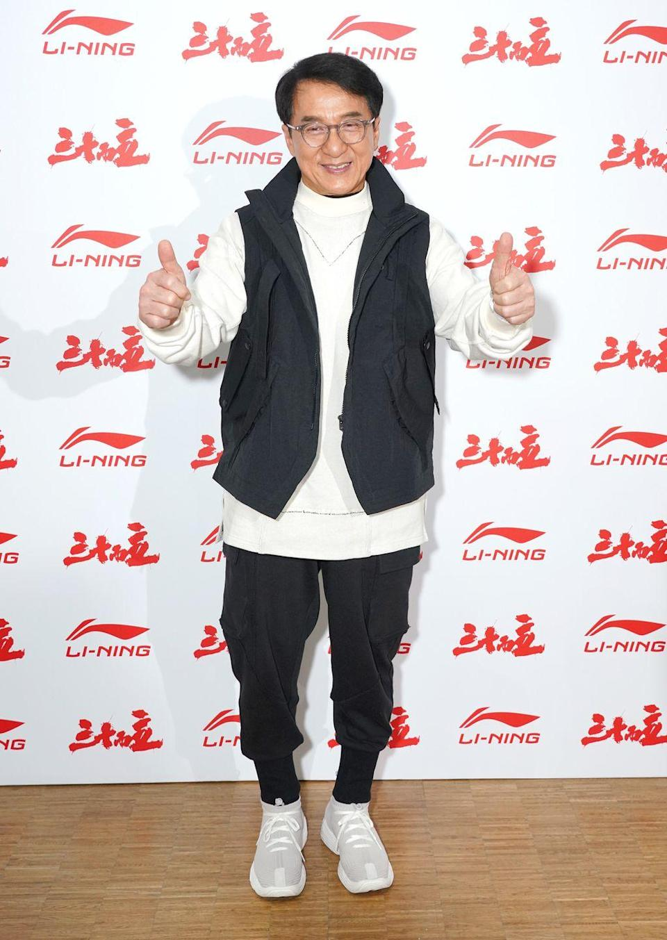 <p>In America, Jackie Chan is the martial arts guru in iconic movies like the <em>Rush Hour </em>franchise. Meanwhile, in Hong Kong, he is a pop star who has released more than 20 albums. Excuse me, but, like, WHAT?! He started singing professionally in 1980 and even sang the theme songs for closing credits of his films.</p>